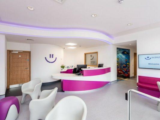 Ian Robertson Reception Area